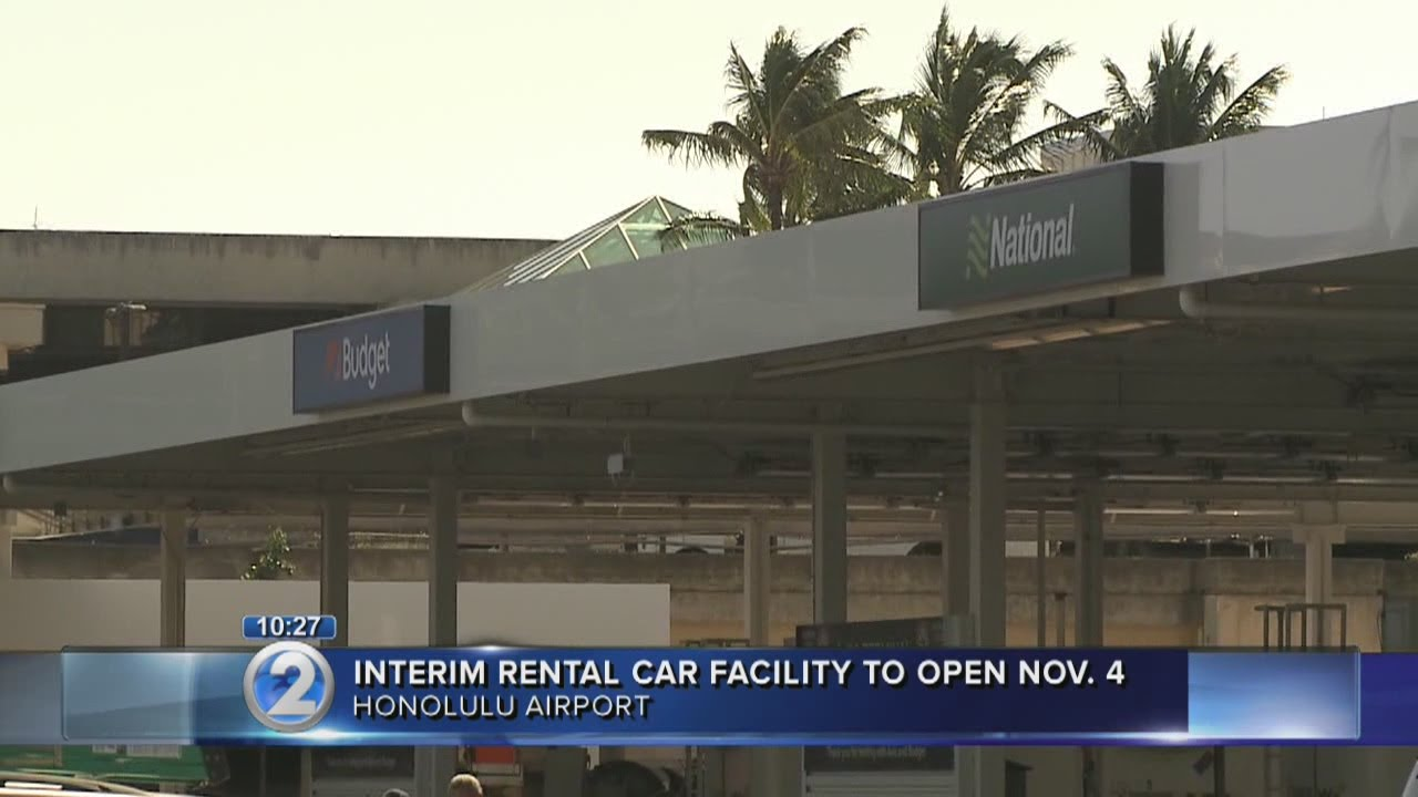 Temporary Car Rental Facility To Open At Honolulu International