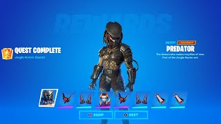 Fortnite Complete 'Jungle Hunter Quests' Guide - How to Unlock All Predator Rewards