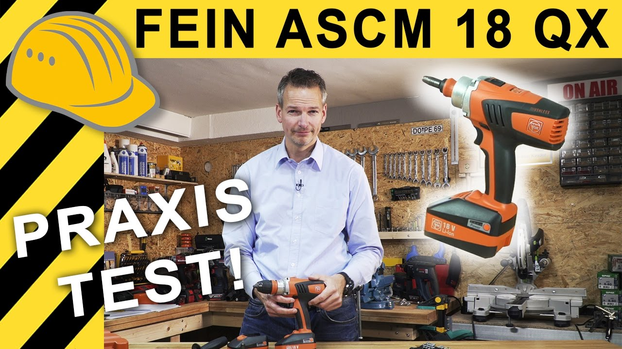 fein akkuschrauber test fein ascm 18 qx 18v 4 gang. Black Bedroom Furniture Sets. Home Design Ideas
