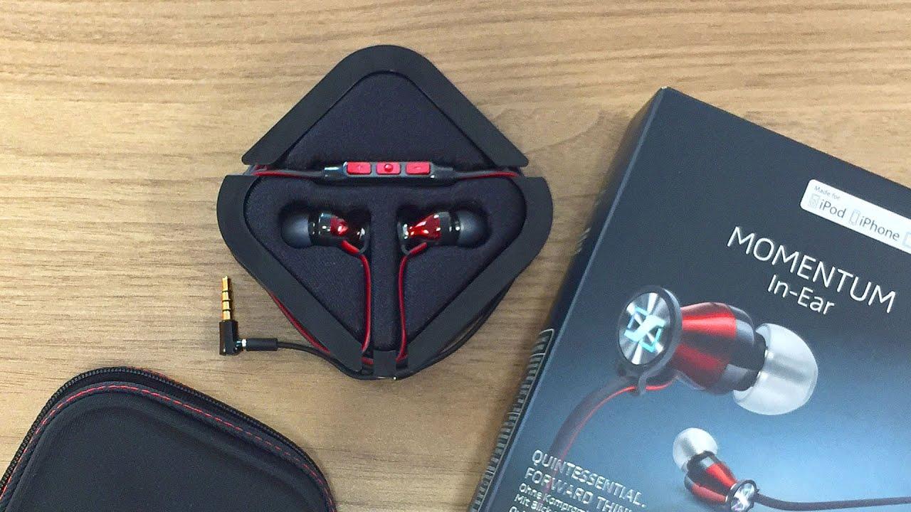 abfc4147923 Sennheiser MOMENTUM In-Ear Headphones Unboxing & Review in 4K - YouTube