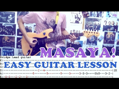 Masaya Bambooeasy Guitar Lessoncoverwith Chords And Tab Youtube