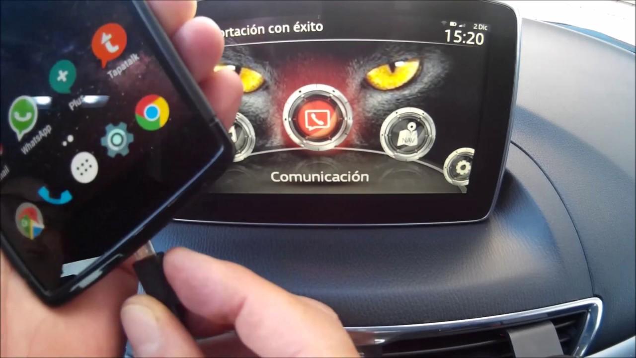 """mazda android auto """"ok google"""" test - youtube"""