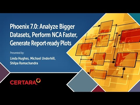 Phoenix 7.0: Analyze Bigger Datasets, Perform NCA Faster, Generate Report-ready Plots