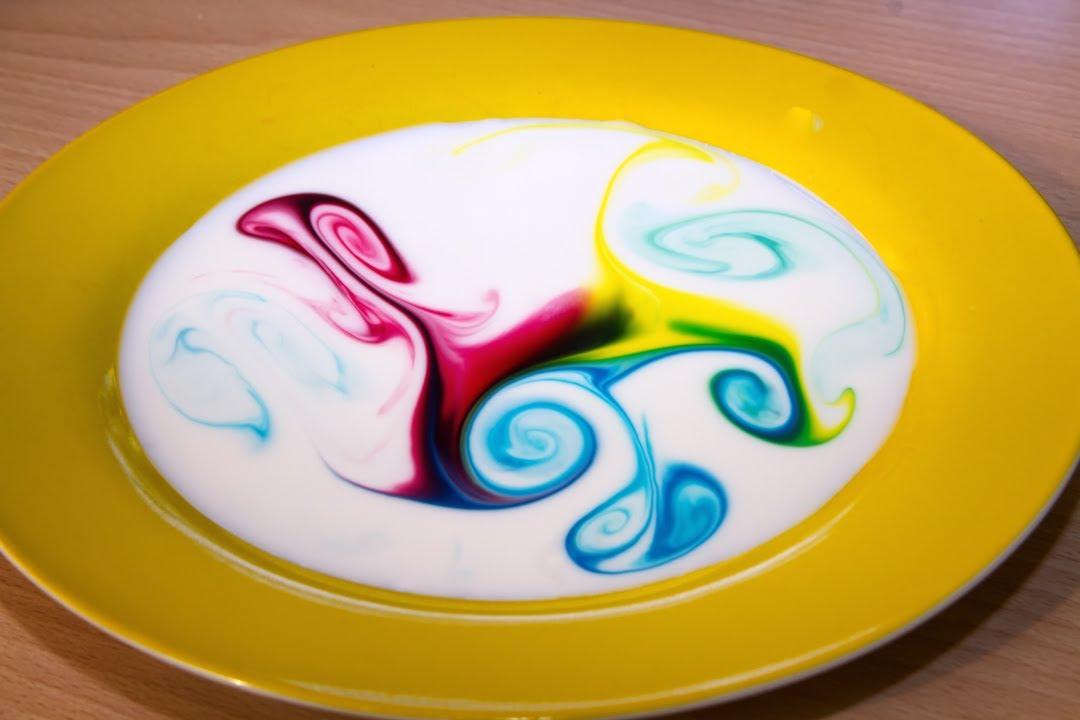 leche magica explosion de colores juego de nios con javier moyano youtube