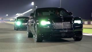 Rolls-Royce Motor Cars Doha Black Badge Track Experience Losail International Circuit November 2016