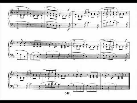 Jörg Demus plays Schumann Album für die Jugend Op.68 - 10. Fröhlicher Landmann