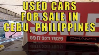 Used Cars For Sale in Cebu, Philippines.