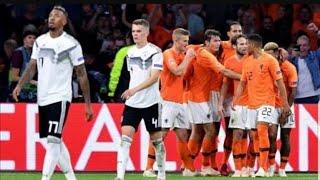 Almanya 0 - 3 Hollanda Geniş Özet HD