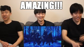 KOREAN NON KPOP FAN REACTS TO - BTS Black Swan The Late Late Show with James Corden Live