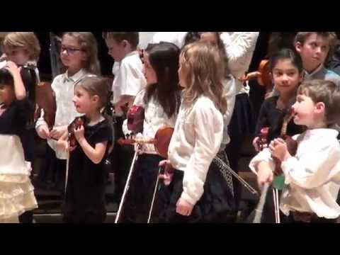 Song of the Wind - Montreal Suzuki Violin Christmas Concert 2013
