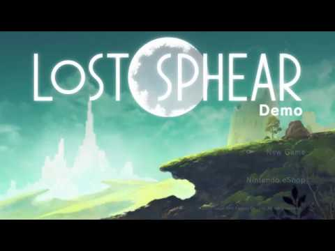 Lost Sphear Japanese Demo Nintendo Switch