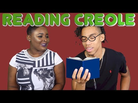 BOYFRIEND TRIES TO READ CREOLE!!