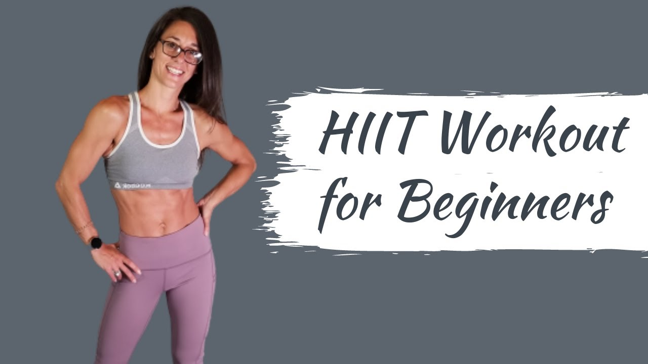 Beginner HIIT Workout- No equipment at home workout