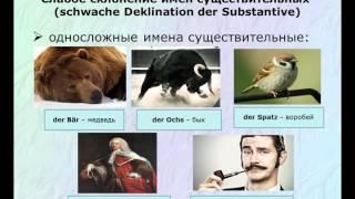 4. Склонение имен существительных.  Грамматика немецкого языка
