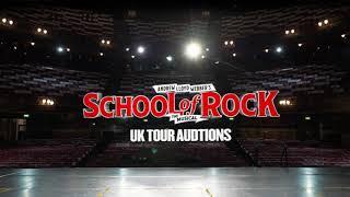 UK & IRELAND TOUR | SCHOOL OF ROCK AUDITIONS