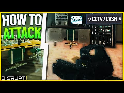 How To Attack Clubhouse CCTV/Cash Room   Rainbow Six Siege