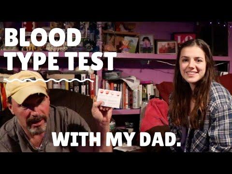 Blood Type Testing Kit