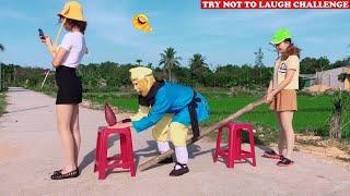 Cười Bể Bụng Với Ngộ Không Ăn Hại Và Gái Xinh - Phần 81 | Must Watch New Funny😂 😂Comedy Videos