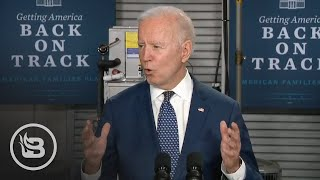 Internet ERUPTS When Biden's Brain Breaks with Massive Slip Up on Taxes