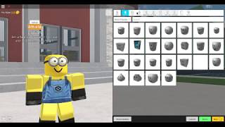How to be a Minion in Robloxian High School