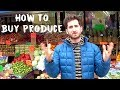 Grocery Store Guide: Buying Produce