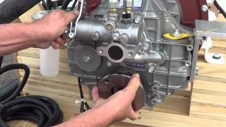 Cummins 6BTA 5.9 370 HP Engine with ZF 63A (Troll) Test for Steve