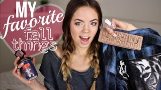 My Favorite Fall Things TAG! 2014 Thumbnail