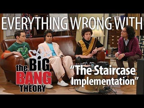 Everything Wrong With Big Bang Theory