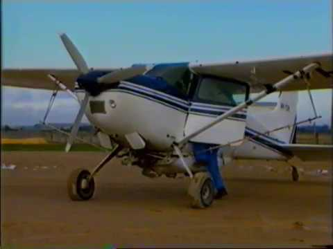 Aerial Agricultural Training Video 1, Conversion to the C185