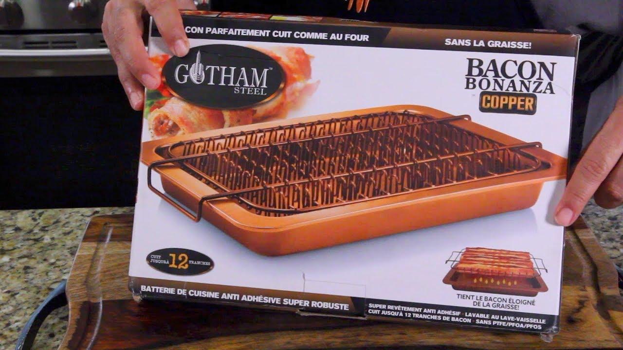 Bacon Bonanza By Gotham Steel As Seen On Tv Youtube