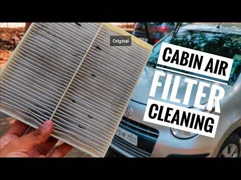 DIY : Cleaning Your Car Cabin Air Filter In Just 5 Mins