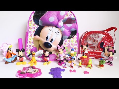 Thumbnail: Surprise Backpack Minnie Mouse toys and dolls fun for kids video
