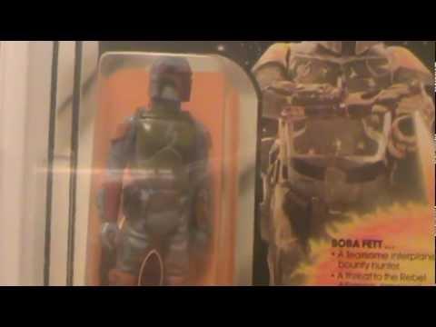 Star Wars 1979 Boba Fett MOC AFA 75