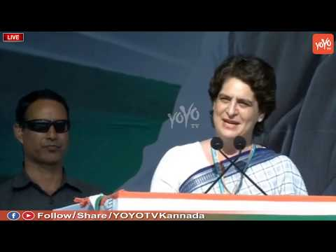 Priyanka Gandhi Extraordinary Speech in Gandhinagar Public Meeting Gujarat | Rahul Gandhi | Congress