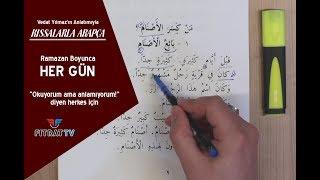 Kıssalarla Arapça (25. Bölüm)