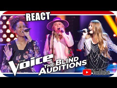 The Voice 2018 Blind Audition Spensha Baker, Alexa Cappelli & Adrian Brannan