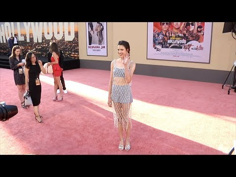 """Margaret Qualley """"Once Upon a Time in Hollywood"""" World Premiere Red Carpet"""