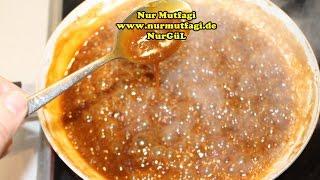 Karamel sosu nasil yapilir tarifi  Trilice tarifi icin Karamel