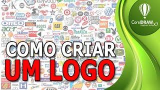 Como criar um logo no CorelDraw | Conceito basico
