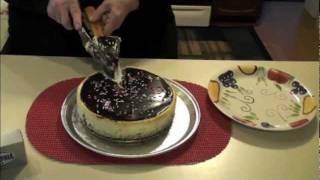 Pat Kutchins' Kitchen: Double Decker Cheese Cake