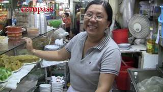 Ben Thanh Market food stalls, Saigon