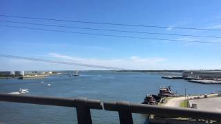 Crossing the Newport River/AICW Between Morehead City and Beaufort, NC