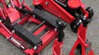 Powerbuilt Triple Lift Floor Jack Video - Pep Boys