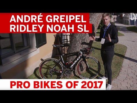 Pro Bikes of 2017: André Greipel Ridley Noah SL