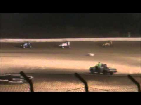 Matt Humphrey- Heat Race at Clay County Speedway 9-27-14