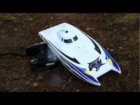RC BOAT AQUACRAFT WILDCAT OFFSHORE CATAMARAN