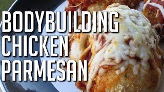 Bodybuilding Chicken Goodness:  Oven-baked Chicken Parmesan