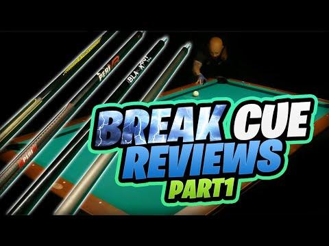 2021 Break Cue Reviews - JFlowers, Peri and GO Customs (part 1 of 2)
