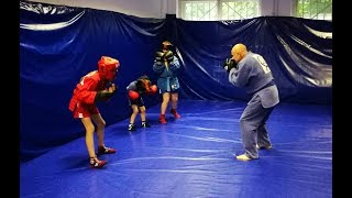 Уроки боевого самбо. Самбо дети