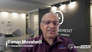 brainSHARE Success Stories: Ramin Movahedi